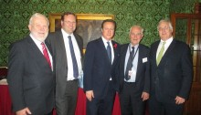 Annual Lunch photo David Cameron & officers
